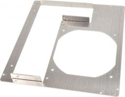 DimasTech Płyta tylna obudowy Mini-ITX, 2 gniazd Aluminium (S0026RW)