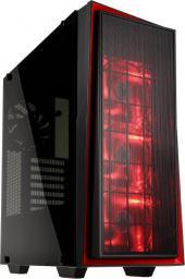 Obudowa SilverStone Redline, czarno czerwony (SST-RL06BR-GP)