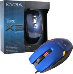 Mysz EVGA TorQ X3L Laser (901-X1-1031-KR)
