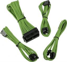 BitFenix Zestaw kabli przedłużających, Alchemy 2.0, zielony (BFX-ALC-EXTNV-RP)