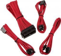 BitFenix Zestaw kabli przedłużających, Alchemy 2.0, czerwony (BFX-ALC-EXTRR-RP)