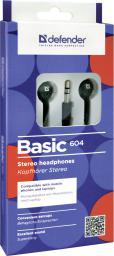 Słuchawki Defender BASIC 604 czarne (63604)