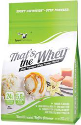 Sport Definition Thats the Whey Vanilla Toffee 700g