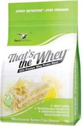 Sport Definition Thats the Whey Mascarpone Lemon Cake 700g