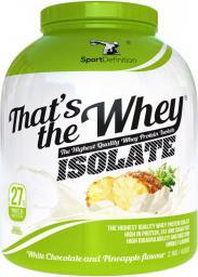 Sport Definition Thats The Whey ISOLATE Biała czekolada-ananas 2.1kg