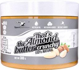 Sport Definition Thats the Almond Butter Crunchy 300g