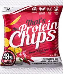SportDefinition Protein Chips Sweet Chili & Cream 25g