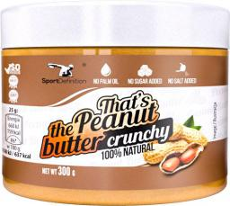 Sport Definition Thats the Peanut Butter Crunchy 300g