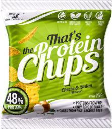 SportDefinition Protein Chips Cheese & Onion 25g