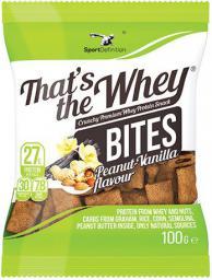 SportDefinition BITES Vanilla-peanut 100g