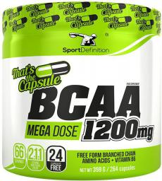 Sport Definition BCAA 1200mg Thats the Capsule 264 kaps.
