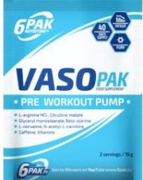6PAK Nutrition 6Pak Crosspak 16g / Lemon Pineapple (PAK/018#CYTAN)