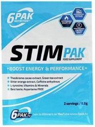 6PAK Nutrition Stim Pak Truskawka-arbuz 8,8g