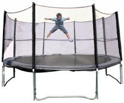 Spartan Zestaw trampolina z siatką bezpieczeństwa  366 cm  (S1081)