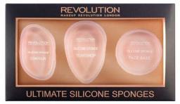 Makeup Revolution Zestaw gąbek Ultimate Silicone Sponge