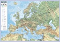 Mapa ścienna Europa w skali 1: 10 000 000 fizyczno-polityczna