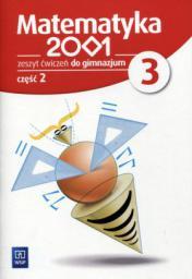 Matematyka 2001 gimnazjum kl.3 ćwiczenia cz.2