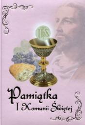 Pamiątka I Komunii Świętej. Różowa