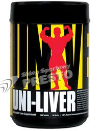 Universal Nutrition Uni Liver 250 kaps.