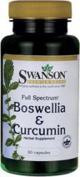 Swanson FS Boswellia Curcumin 60 kaps.