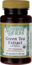 Swanson Green Tea Extract 500mg 60 kaps.