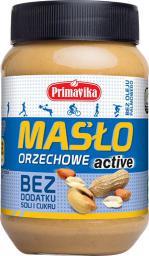 Primavika Masło Orzechowe Active bez soli i cukru 470g