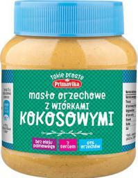 Primavika Masło Orzechowe z wiórkami kokosa 350g