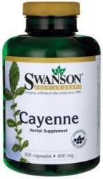 Swanson Cayenne 450mg 300 kapsułek
