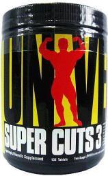Universal Nutrition Super Cuts 3 - 130 tabletek