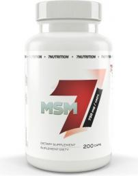 7 Nutrition MSM 750mg 200 kaps.