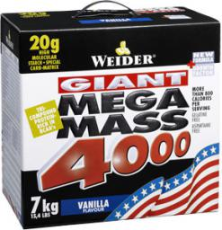 Weider Mega Mass 4000 Wanilia 7kg