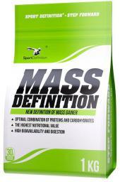 SportDefinition Mass Definition Ananas-biała czekolada 1kg