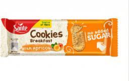Sante Ciasteczka Śniadaniowe z Morelą Bez cukru 50g