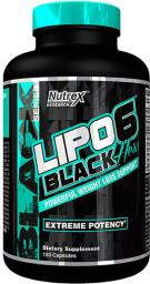 Nutrex Lipo-6 Black Hers 120 kaps.