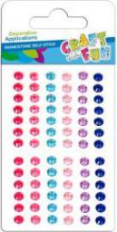 Euro Trade Kryształy samoprzylepne 6 kolorów 382489 - WIKR-1061627