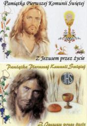 Opoka Pamiątka I Komunii Świętej Z Jezusem przez życie