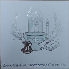 Pol-Mak Zaproszenia na Chrzest (ZKW CHR 40768)