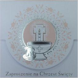 Pol-Mak Zaproszenia na Chrzest (ZKW CHR 40766)