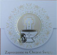 Pol-Mak Zaproszenia na Chrzest  (ZKW CHR 40973)