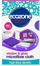 Ecozone Ściereczka z mikrofibry do szkła (ECZ00917)