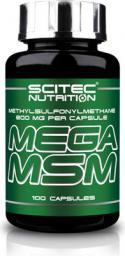 Scitec Nutrition Mega MSM 100 kaps.