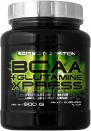 Scitec Nutrition BCAA Glutamine Xpress jabłko 600g