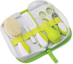 Nuvita Zestaw niezbędnych akcesoriów do pielęgnacji w kosmetyczce, GREEN