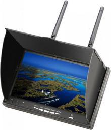 """Monitor FPV LCD5802D 5802, 5.8GHz, 32CH, 800x480, 7"""", 7.4V/2000mAh (SKU355153)"""