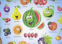 Liwona Podkładka na biurko. Poznaję owoce LIWONA - 187105