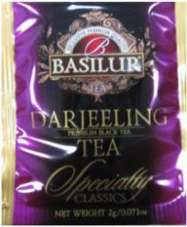 BASILUR Herbata Darjeeling w saszetkach 100x2g (70313)