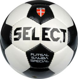 Select Piłka nożna Futsal Pro biało-czarna r. 4