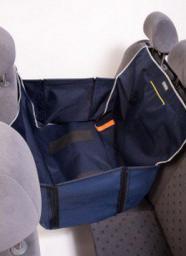 KARDIFF Kardimata Anti Slip Mini 70x160 granatowa - mata samochodowa na połowę tylnego fotela