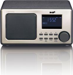 Radio Lenco DAR-010 czarne