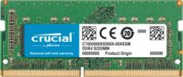 Pamięć dedykowana Crucial SODIMM  DDR4  8GB 2400MHz. do  Mac (CT8G4S24AM)